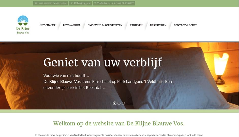 DeKlijneBlauweVos.nl