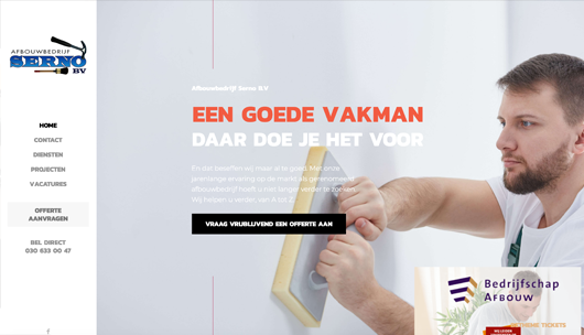 SernosAfbouw.nl